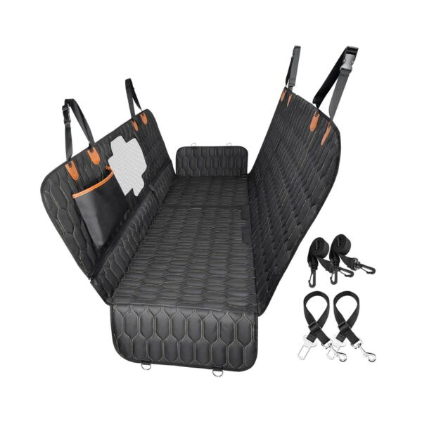4 in 1 Dog Car Seat Cover OKMEE Convertible Dog Hammock Scratchproof Pet Car... $47.99