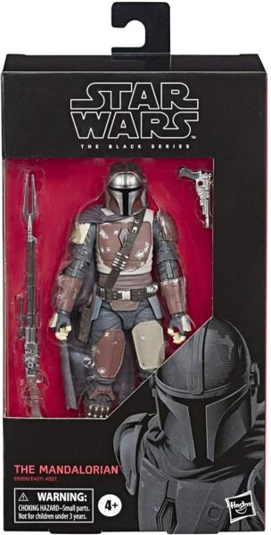 MANDALORIAN 6quot; Star Wars The Black Series Action Figure. MINT. IN STOCK