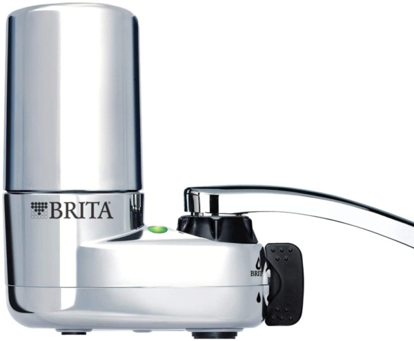 Brita On Tap Kitchen Purifier Faucet Water Filter System Chrome w Indicator
