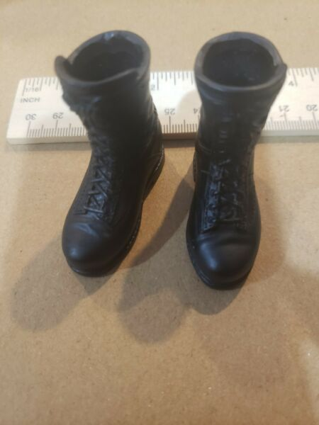 1 6 Scale military for 12quot; action Military Boots #614