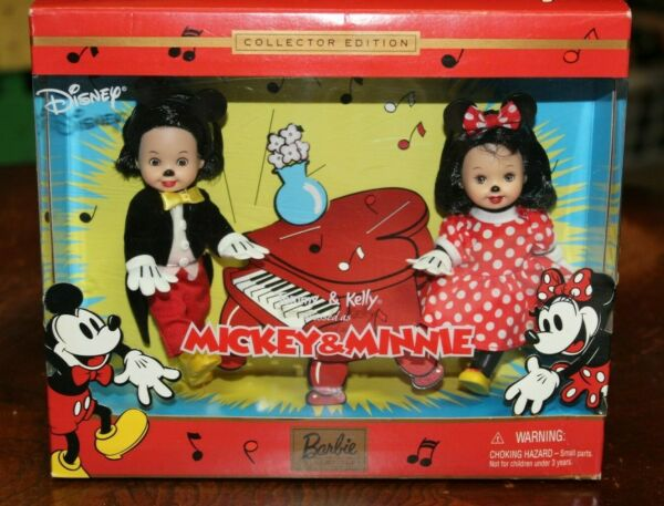 2002 Tommy and Kelly Dressed as Mickey and Minnie Mouse Collector Edition $29.99