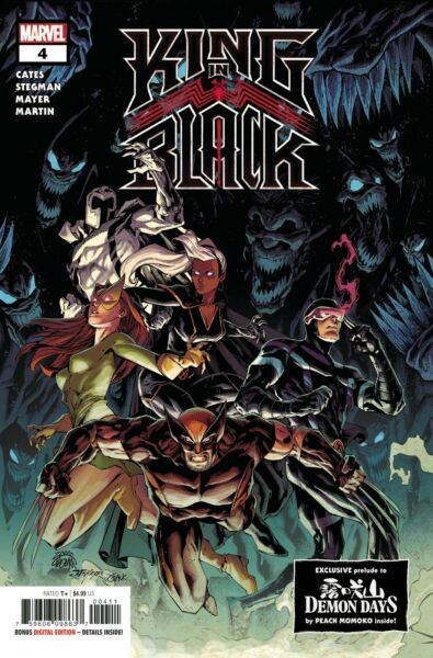 King in Black #4 of 5 Main Cover Marvel Comics 02.17.21