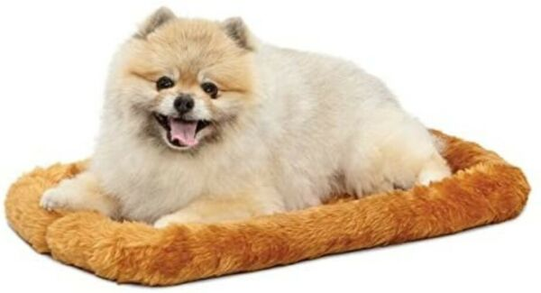 MidWest Bolster Pet Bed Dog Beds Ideal for Metal Dog Crates Machine Wash amp; $12.77