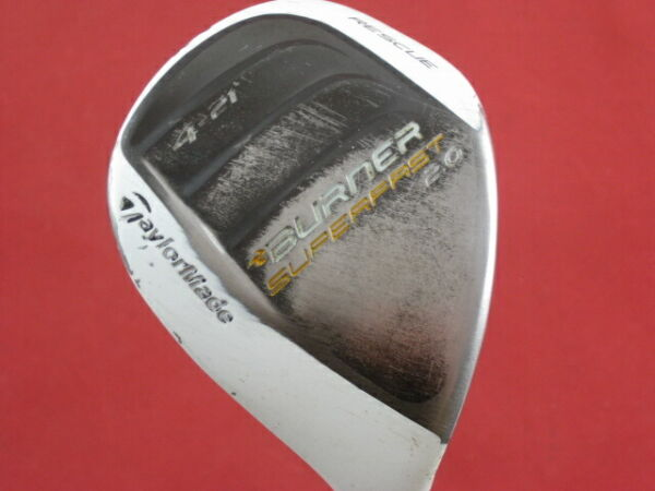 TAYLORMADE BURNER SUPERFAST 2.0 21* 4 HYBRID GRAPHITE SENIOR GOOD