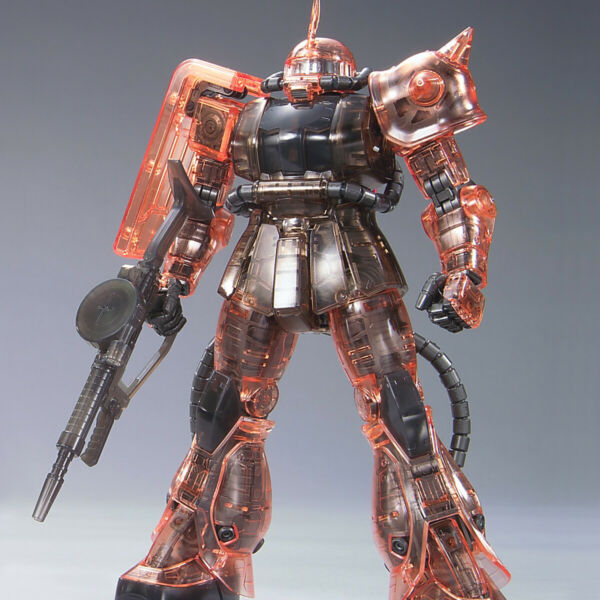 Bandai Expo Limited MG Char#x27;s Zaku Ver.2.0 Clear Ver. US Free Shpping
