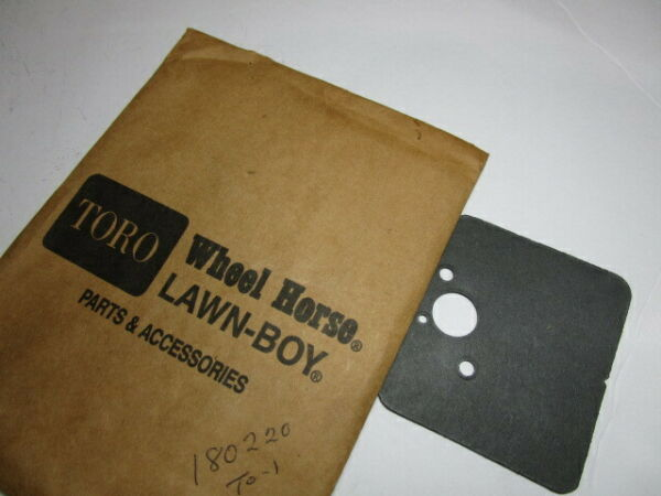 Toro Lawn Boy Trimmer 180220 Cyl Carb Spacer Gasket for 51620 51638 51911 $2.99