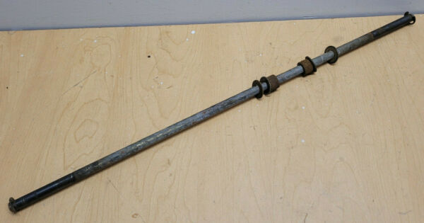 USED John Deere TRS21 Snow Blower axle shaft with keepers bushings amp; washers