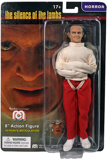 MEGO HANNIBAL LECTER THE SILENCE OF THE LAMBS 8quot; ACTION FIGURE. IN STOCK