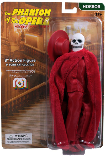 MEGO RED DEATH PHANTOM OF THE OPERA 8quot; Inch Figure. IN STOCK