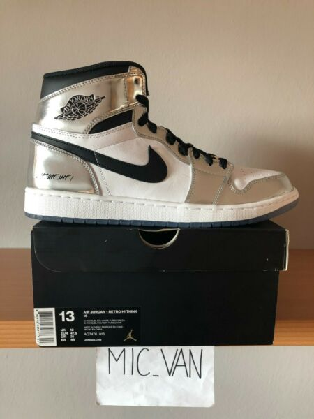 Nike Air Jordan 1 Retro High Pass the Torch Kawhi Leonard AQ7476 016 US 13