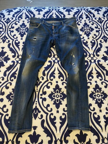 Dsquared2 men jeans 52 Sexy Twist $150.00