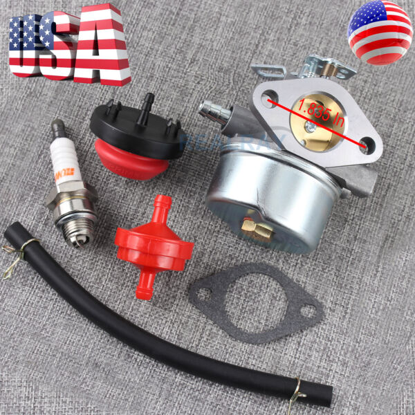 New Carburetor For Tecumseh Sears Craftsman snow blower Engine Model 143 029003