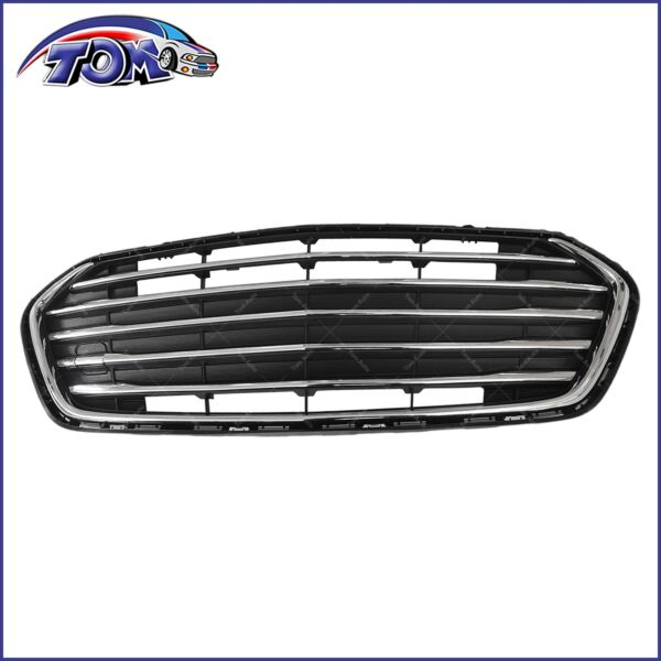 Front Bumper Lower Chrome Grill Grille For 2017 2018 2019 2020 Chevrolet Trax