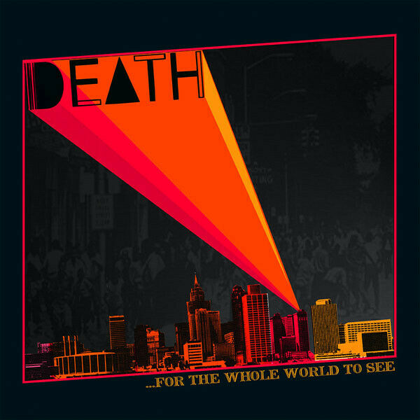 Death For The Whole World To See LP Vinyl Record Album Detroit Garage Punk