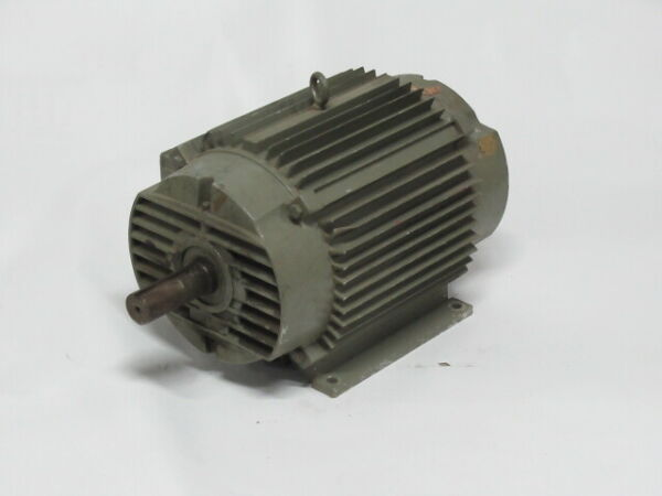 US Motors TENV 1 3 8quot; Shaft Dia Electric Motor *Specs Unknown* AS IS $349.99