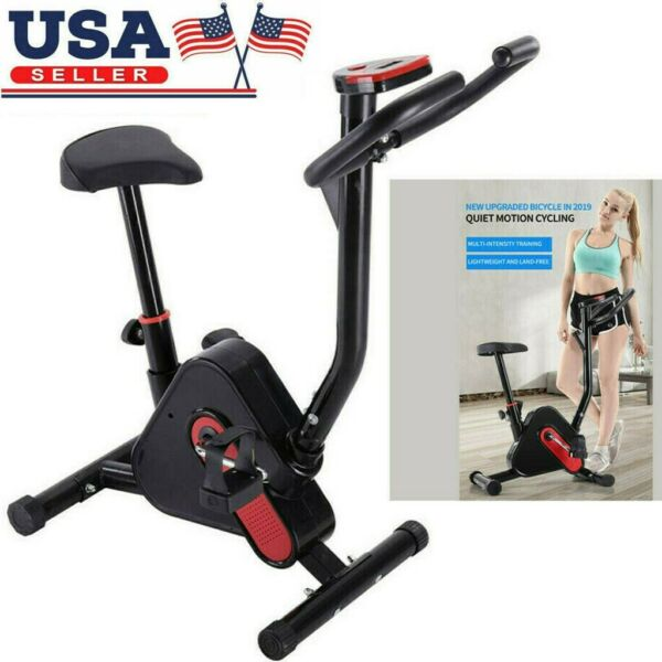Stationary Cycling Cardio Exercise Bicycle Fitness Indoor Bike Trainer Workout $91.69