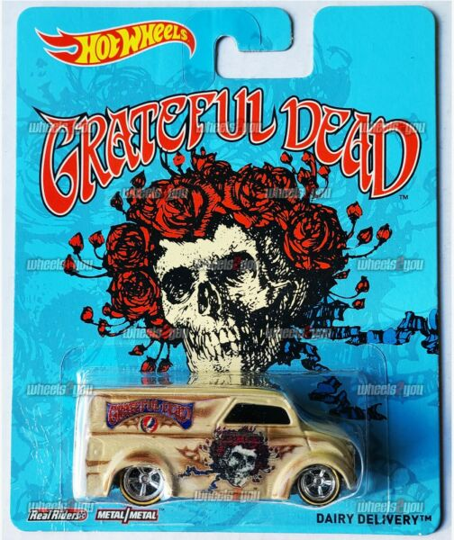 Damaged DAIRY DELIVERY Grateful Dead Hot Wheels Pop Culture REAL RIDERS