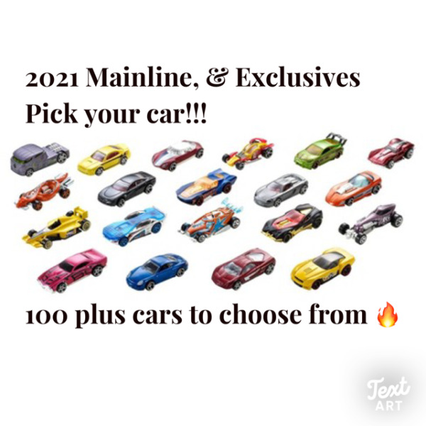 2021 Hot Wheels Main Line Series You Pick 250 Brand New Hot Wheels🔥🔥😮 $8.50