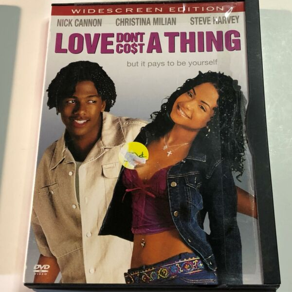 Love Don#x27;t Cost A Thing DVD Movie SB44 $6.89