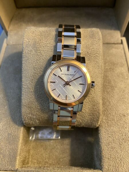 burberry watches for women Silver gold $300.00