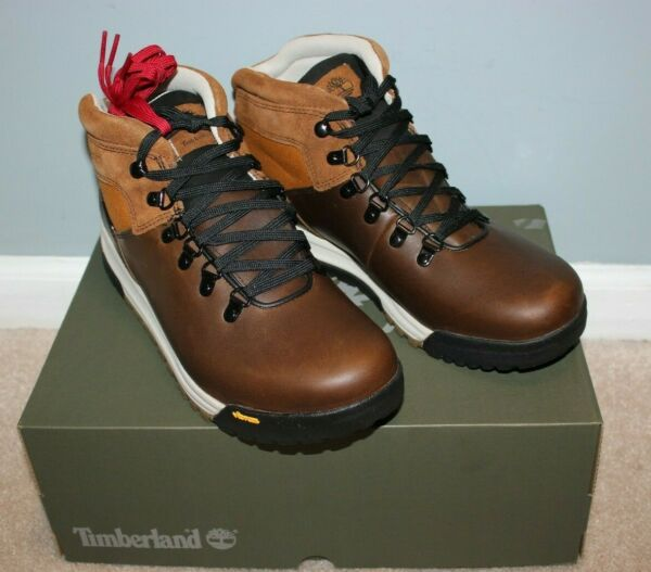 Timberland for J.Crew GT Scramble Hiking Boots 9.5 10.5 Brown Leather J9290 $79.99