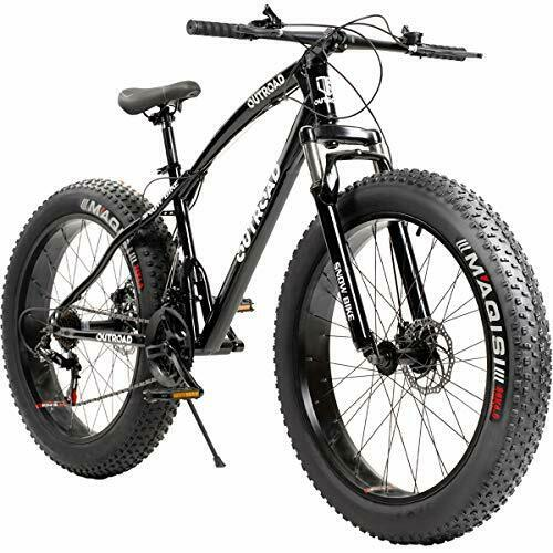 Outroad Fat Tire Mountain Bike 26 Inch Wheels Adult Bicycle 21 Speeds Sand Trek $646.89