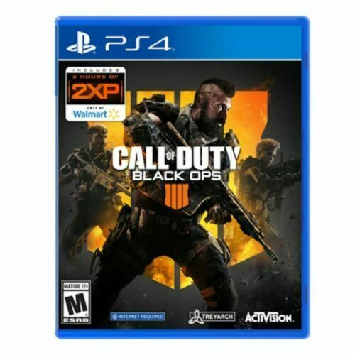 Call of Duty: Black Ops IIII 4 Sony PlayStation 4 PS4 Brand New Sealed $19.88
