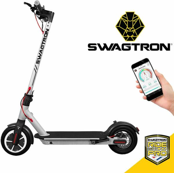 Swagtron Swagger 5 High Speed Electric Scooter Cruise Control Portable Folding $186.99