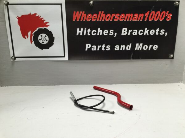 Toro Wheel horse lift cable tube And #108144 Cable hydro transmission