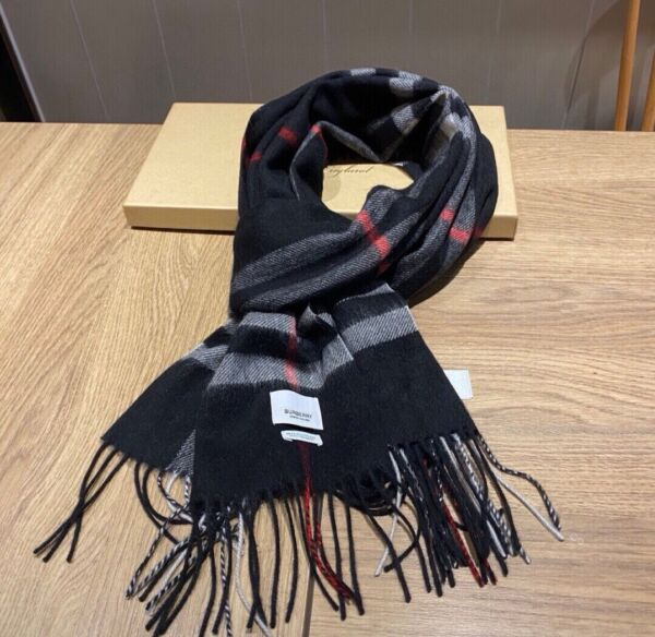 Authentic Burberry Scarf Cashmere scarves women shawl high quality scarf $89.90