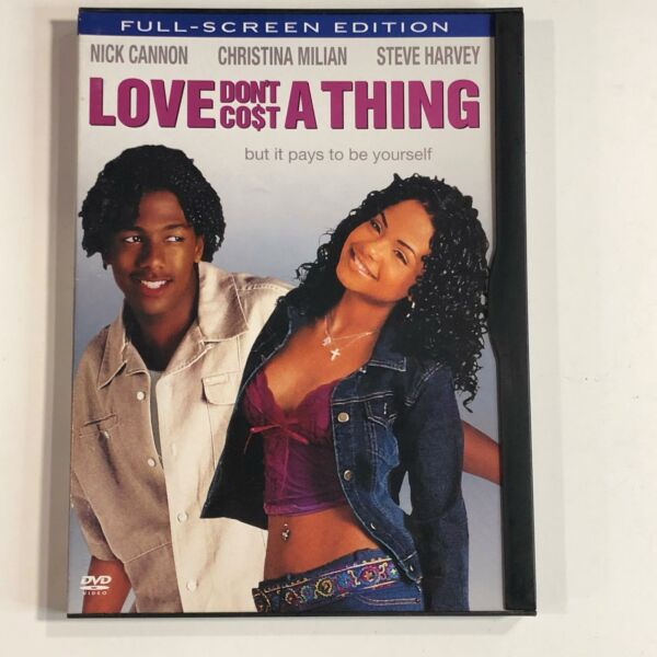 Love Don#x27;t Cost A Thing DVD Movie SB90 $9.19