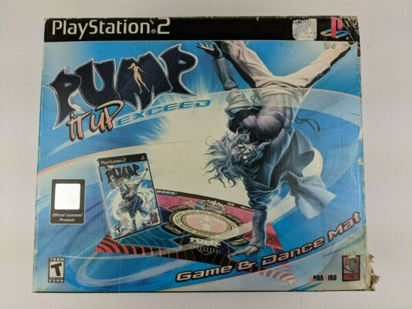 PS2 Pump It Up Exceed Game And Dance Mat for PlayStation 2 $134.99