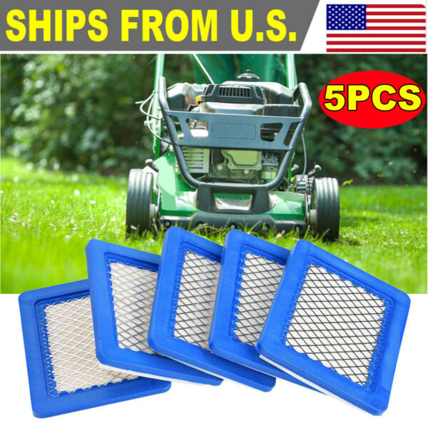 5 packs Lawn Mower Air Filter for Briggs and Stratton 491588 491588S 399959 $8.99