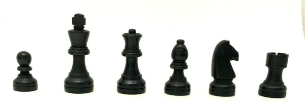 3quot; King Black WOOD Staunton Chess Pieces INDIVIDUAL