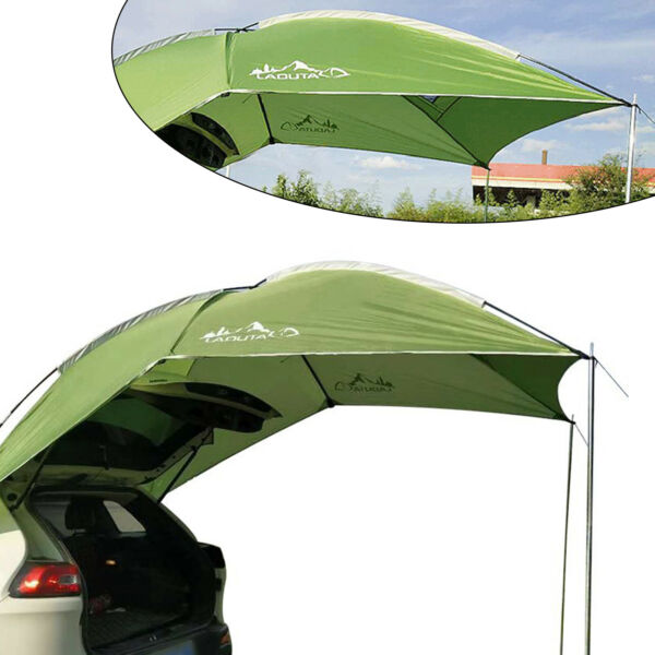 Outdoor Sunshade Canopy Car Tent Awning Rooftop SUV Truck Camping Shelter Travel $76.99