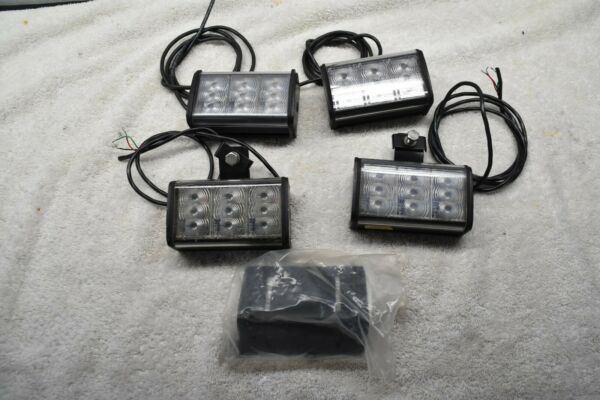 Federal Signal Cuda LED light modules X4 Models R and B