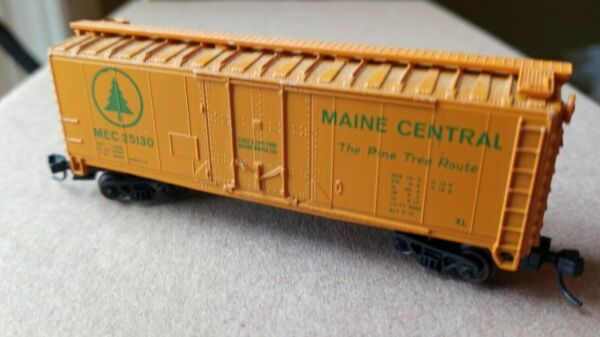 N Scale Maine Central Model Railroad Freight Car Realistic Couplers Trains Fun $18.00