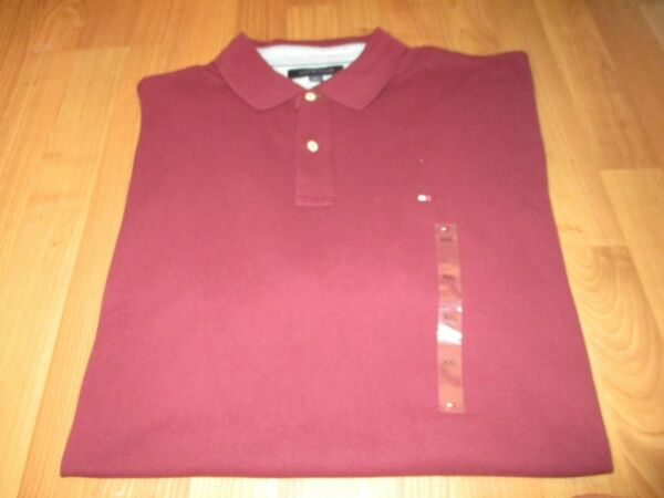 NEW NWT MENS TOMMY HILFIGER SHORT SLEEVE POLO SHIRT SIZE XXL $19.99