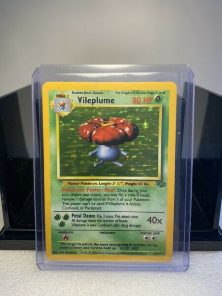 VILEPLUME 15 64 HOLO Rare Jungle Set 🌿 Pokemon Card LP $20.00