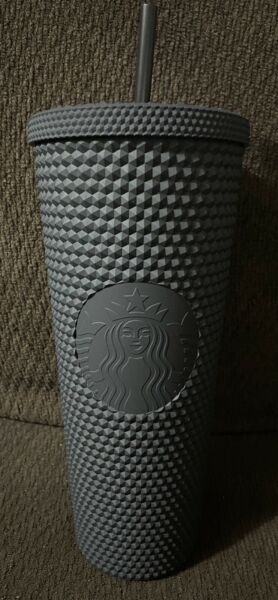 Starbucks Limited Edition Studded 24oz Venti Tumbler Cup Matte Black New
