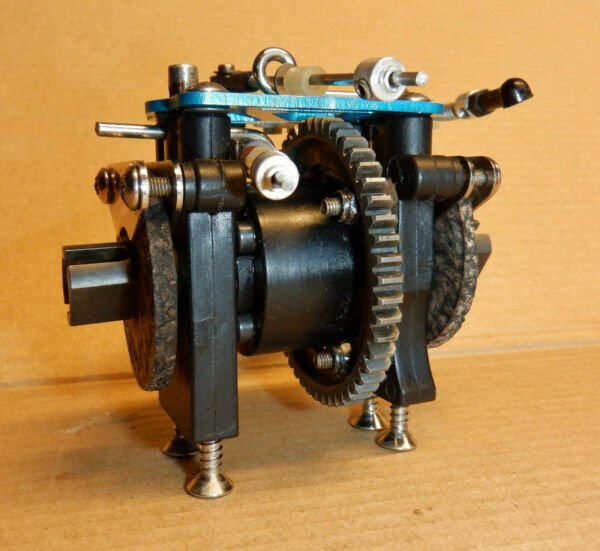 OFNA MBX MBX R2 Ultra Vintage 4 WD R C Nitro Center Diff As Photographed Used