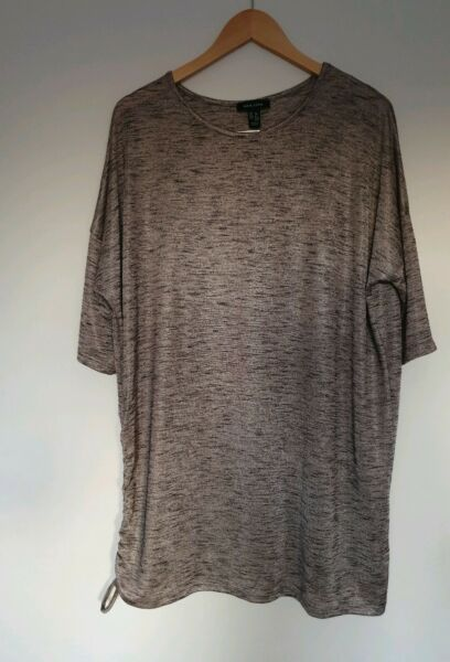 Ladies long top tunic size 12.New look
