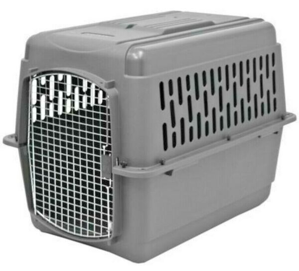 X Large Dog Crate Carrier Kennel Durable Ventilated Plastic Transport Portable $159.60