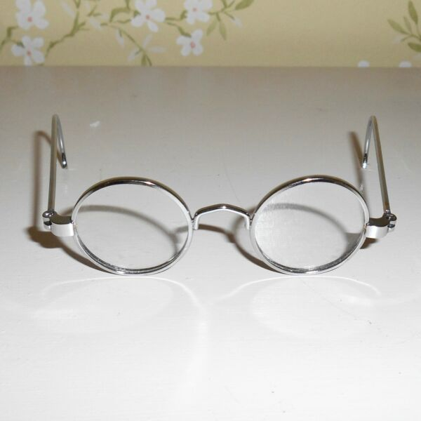 Vintage Molly Meet Silver Glasses Pleasant Company American Girl Spectacles VGUC