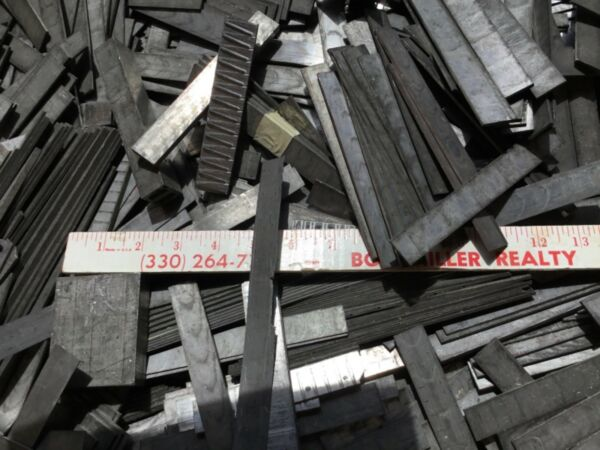 10 Pounds Printers Linotype Material Lead