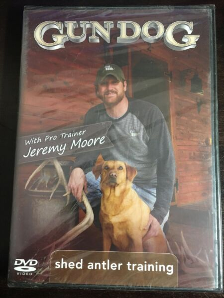 Gun Dog Shed Antler Training With Jeremy Moore Dvd $29.95