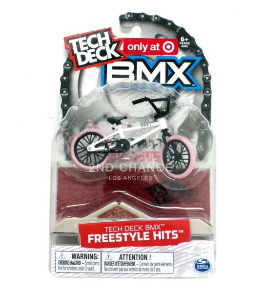 New Tech Deck BMX Freestyle Hits CULT White Pink Finger Bike Target Exclusive $19.80