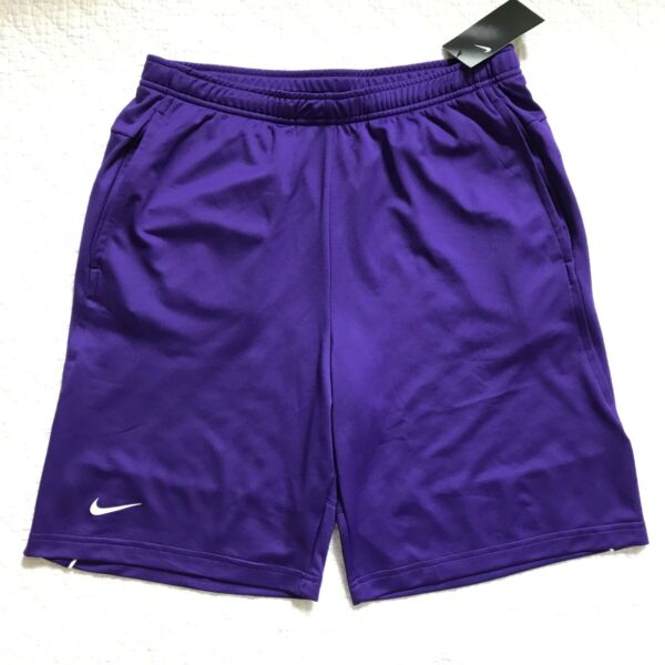 Nike Football Knit Mesh Shorts Men's Purple SZ XL NWT AO5921 545