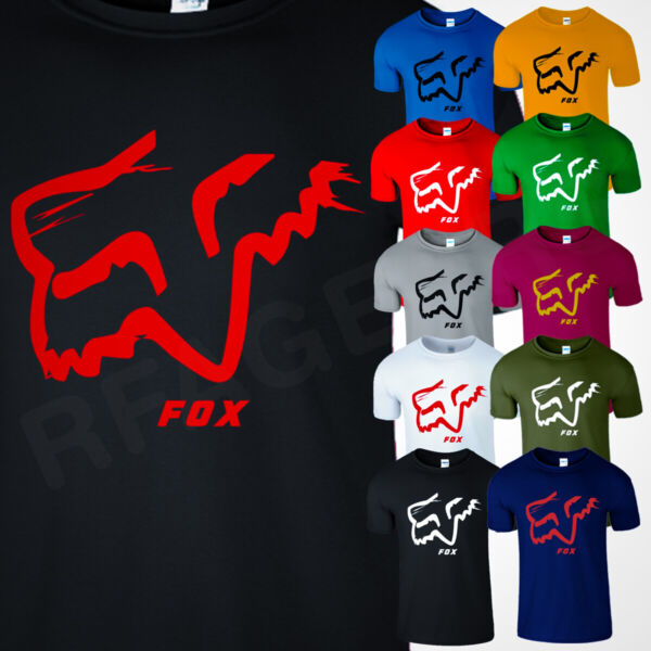 FOX RACING MENS Funny T Shirt Off Road Moth Track Motocross Mx Camo Legacy Tee