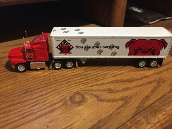 1996 MATCHBOX ULTRA EDITION RED DOG TRACTOR TRAILER CC702 METAL DIE CAST $14.95